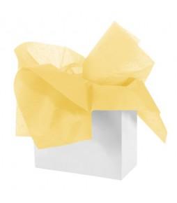 """Бумага тишью """"Желтый"""""""