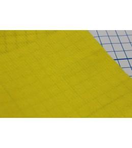 Велкроткань на клеевой основе, 22*28 см, желтая