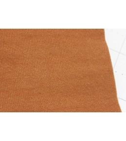 Велкроткань на клеевой основе, 22*28 см, коричневая