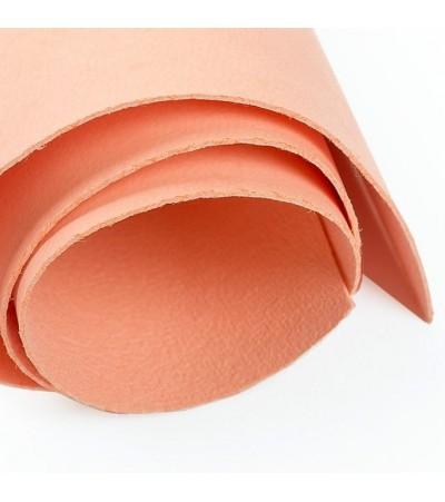 Кожа искусственная 35*50 см, цвет персиковый