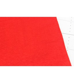 Велкроткань на клеевой основе, 22*28 см, красная