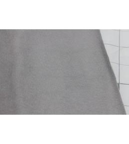 Велкроткань на клеевой основе, 22*28 см, серая