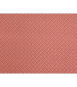 """Кожа  искусственная """"Плетеночка"""" розовая, 20х30 см"""
