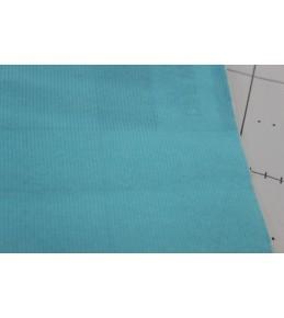 Велкроткань на клеевой основе, 22*28 см, голубая