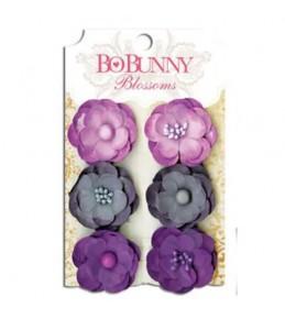 """Бумажные цветы """"Plum Purple Pansy"""""""