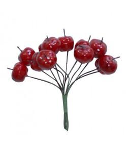 Яблочки красные,  15 мм