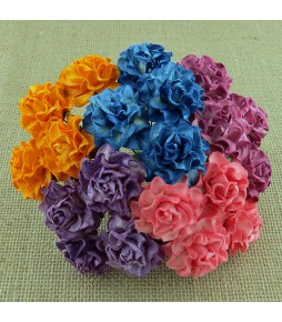 Розы Тосканы, микс цвета  , 30 мм, 5 шт.