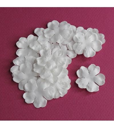 Лепестки бумажные, 29 мм, цвет белый