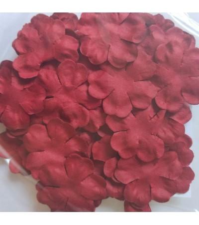 Лепестки бумажные, 29 мм, цвет бордовый