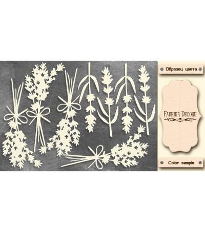 "Набор чипбордов ""Lavender Provence 2"" 10х15 см"