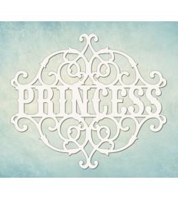 "Чипборд ""Princess"",  84х107 мм"