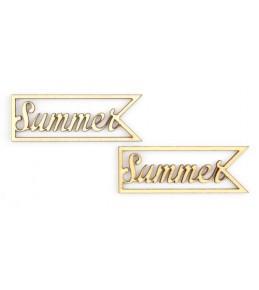 """Лазерные вырубки из дерева  """"Summer"""""""